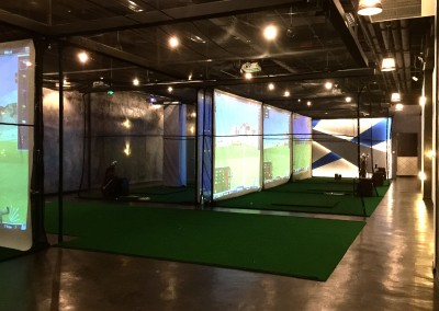 High Tech Indoor Golf Stadium 1
