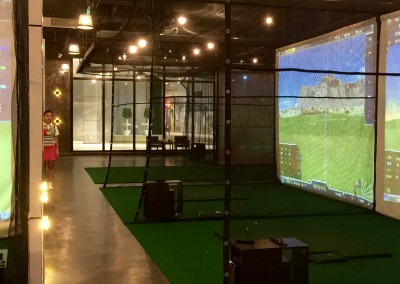 High Tech Indoor Golf Stadium 2