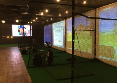 High Tech Indoor Golf Stadium 6