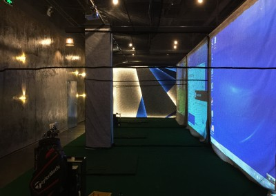 High Tech Indoor Golf Stadium 7