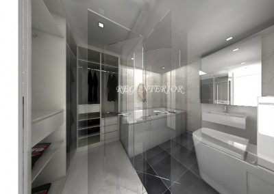 ONE JERVOIS master bathroom(residential)