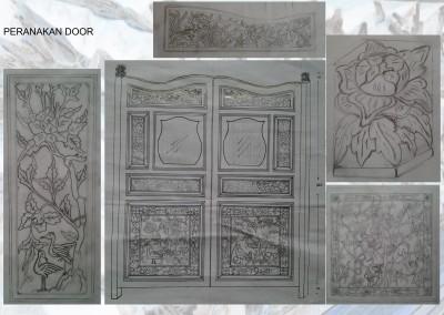 Peranakan Door 1