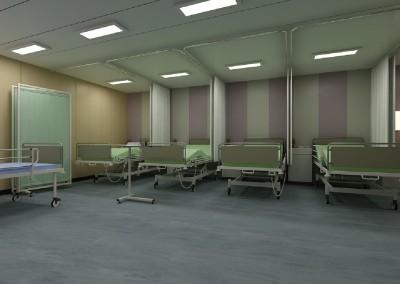 123m accomodation barge hospital