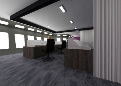 79m Platform Support Vessel Wheelhouse