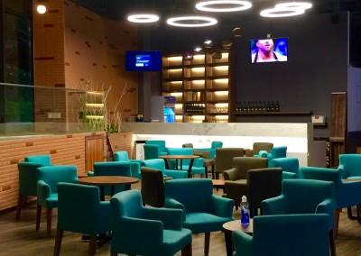High Tech Indoor Golf Stadium 3
