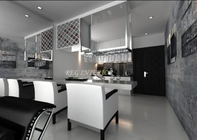 Jervois breakfast table(residential)